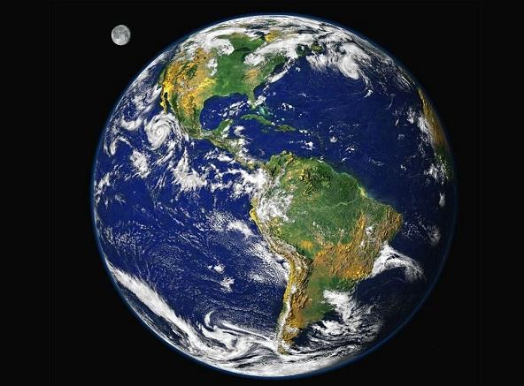 Científicos aseguran que la Tierra está conformada por dos planetas