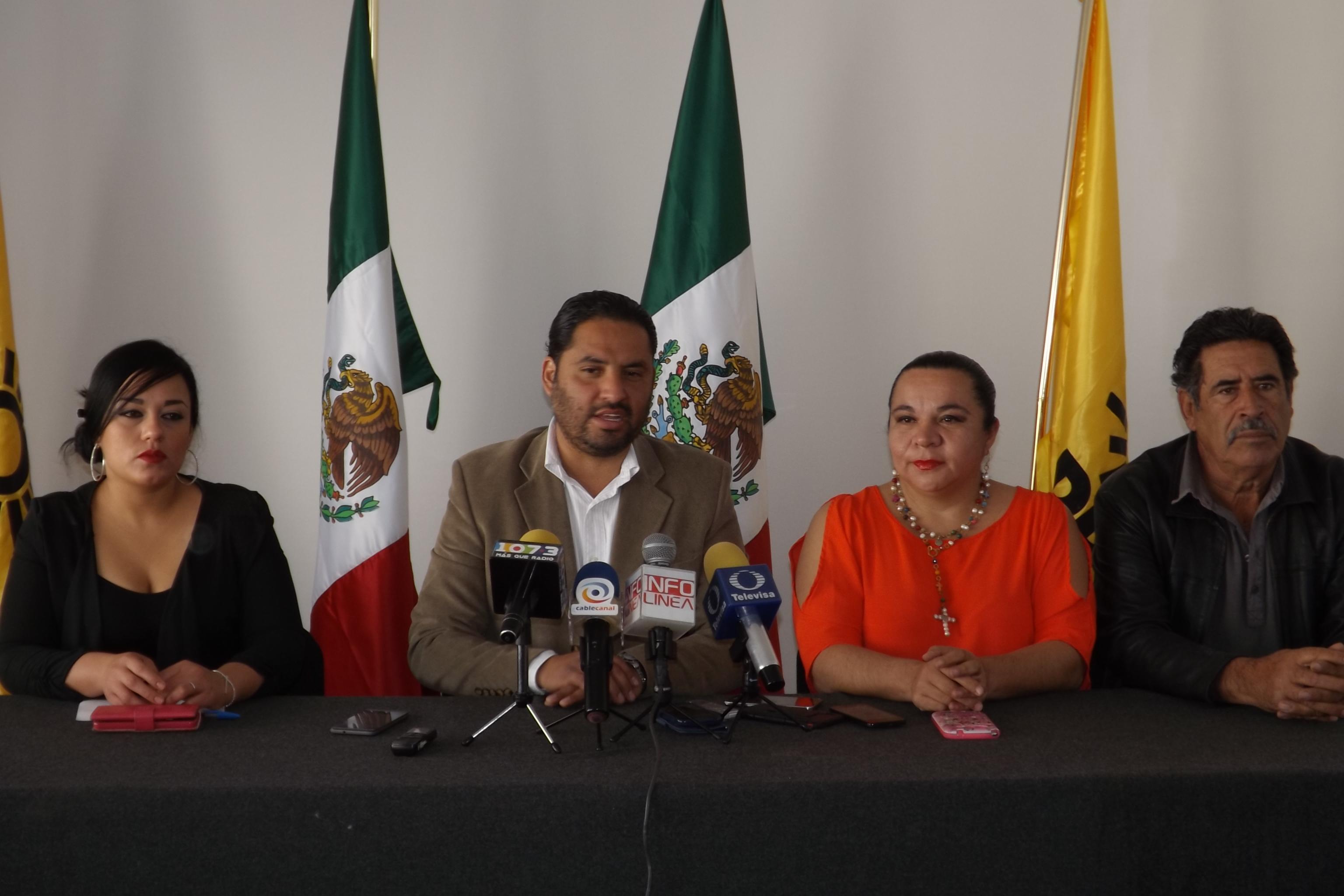 El proyecto del PRD en Aguascalientes va viento en popa: Sánchez Najera