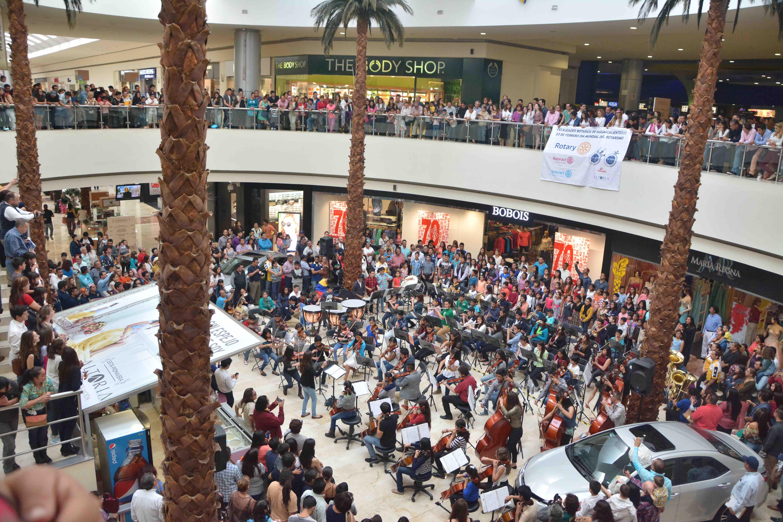 Orquesta Sinfónica y Coro Juvenil de JM se presentan con éxito en Altaria