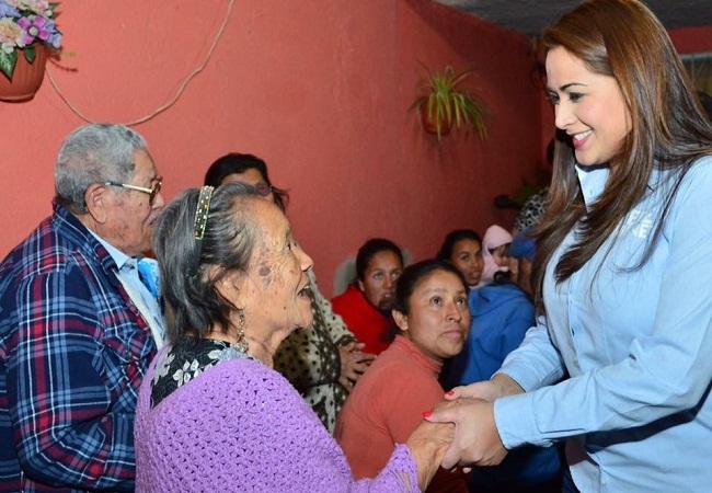 Continúa Tere Jiménez sumando esfuerzos de los panistas de Ags.