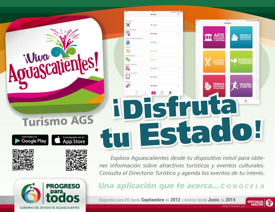 Crea Oficialía Mayor App para la Secretaría de Turismo de Aguascalientes