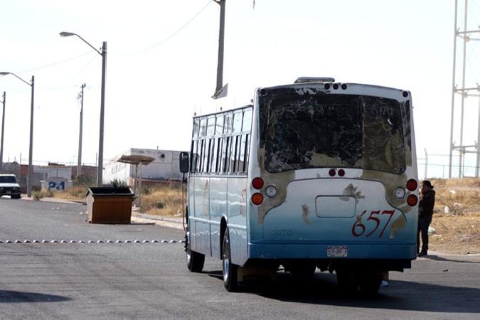 Desconocen ataques de pandilleros hacia camiones urbanos en Jesús María