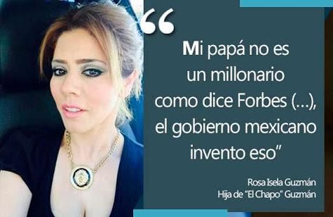 """Todo fue una broma de la hija de """"el Chapo"""": abogado"""