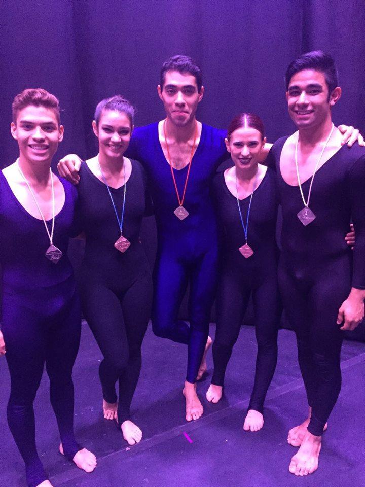 Triunfan bailarines de Aguascalientes en concurso nacional