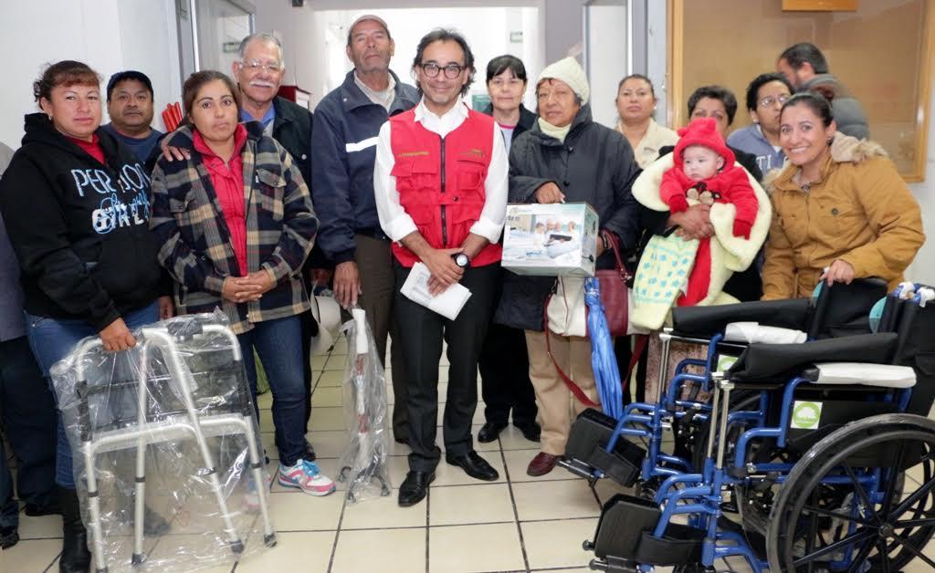 Entrega SEBIDESO apoyo a sectores vulnerables
