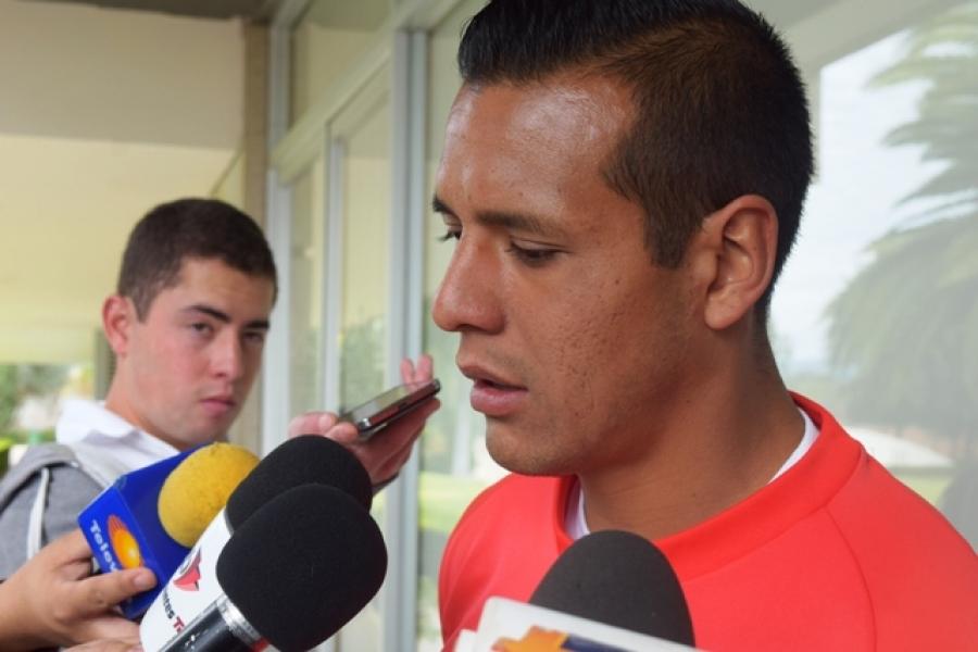 Estoy contento por anotar mi primer gol en Necaxa: Mario De Luna