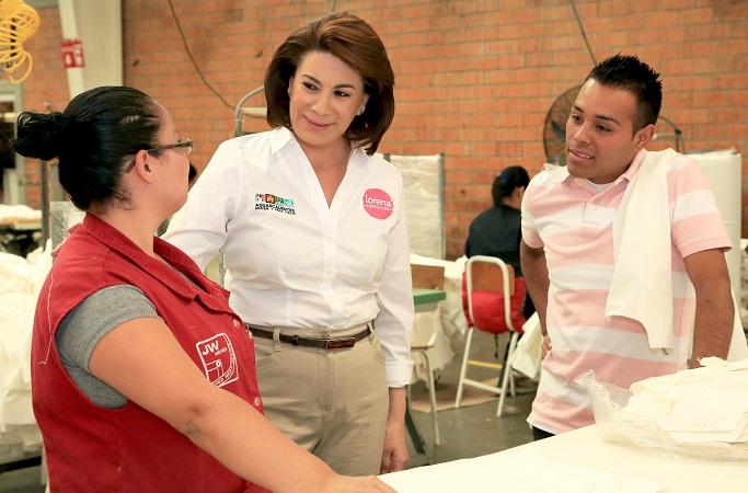 Impulsaremos mayor infraestructura para negocios locales: Lorena Martínez