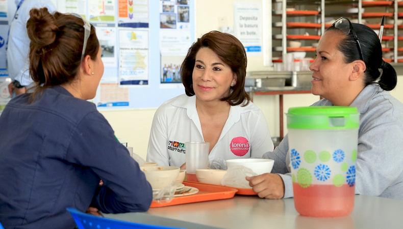 Crearemos guarderías en empresas de Ags: Lorena Mtz.