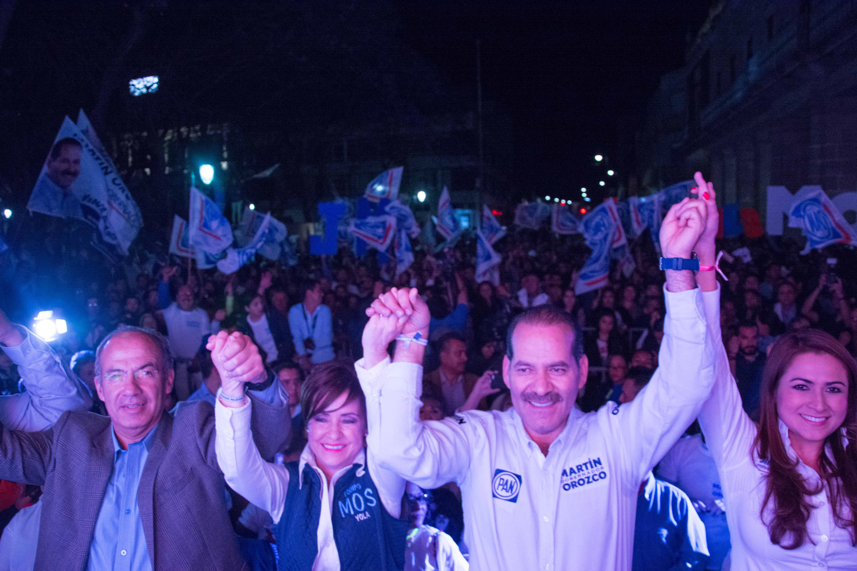 Me gusta andar en campaña: Felipe Calderón en Aguascalientes