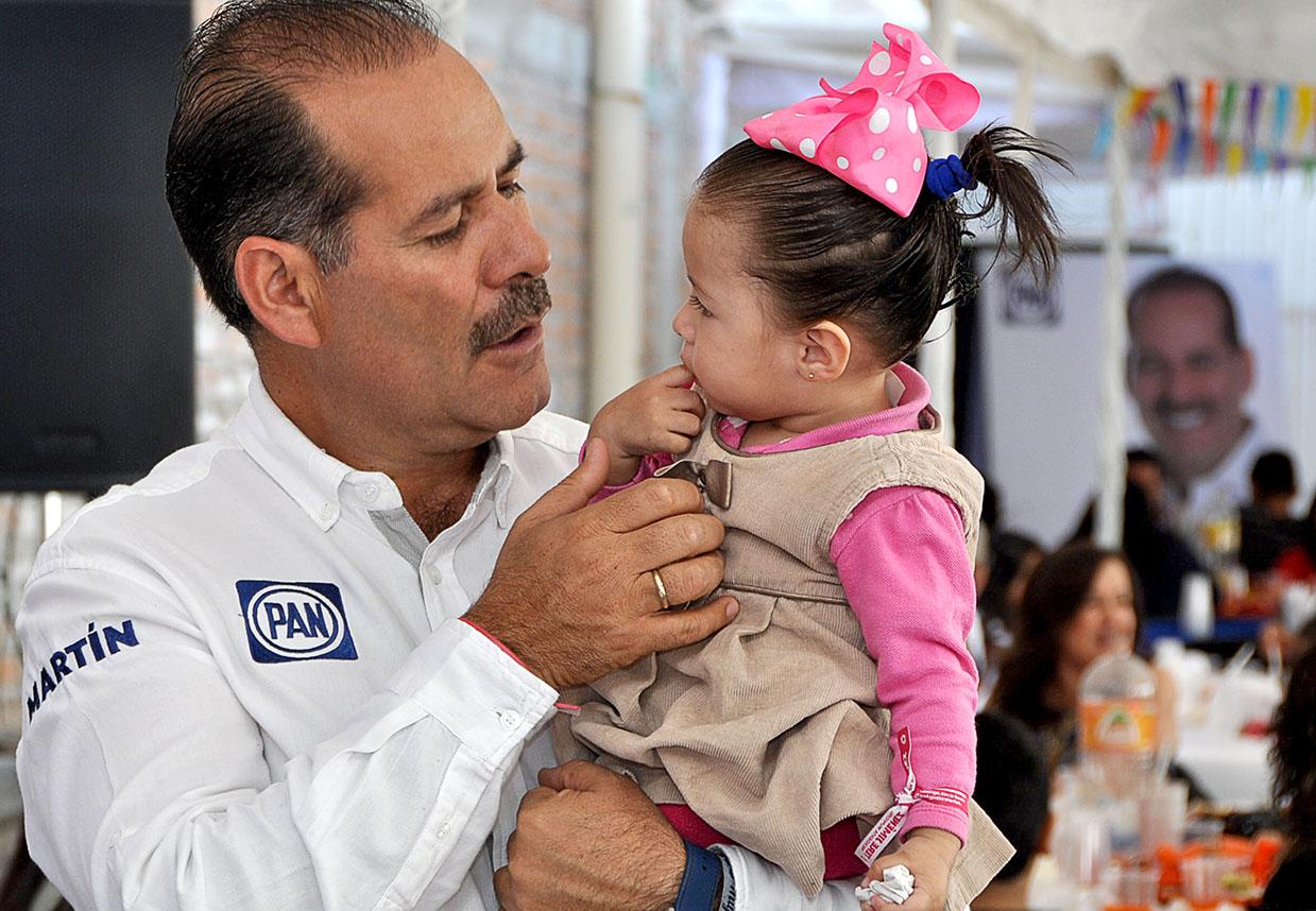 Construirá Martín Orozco hospital de Pediatría en Aguascalientes