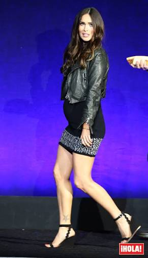 Megan Fox reaparece embarazada