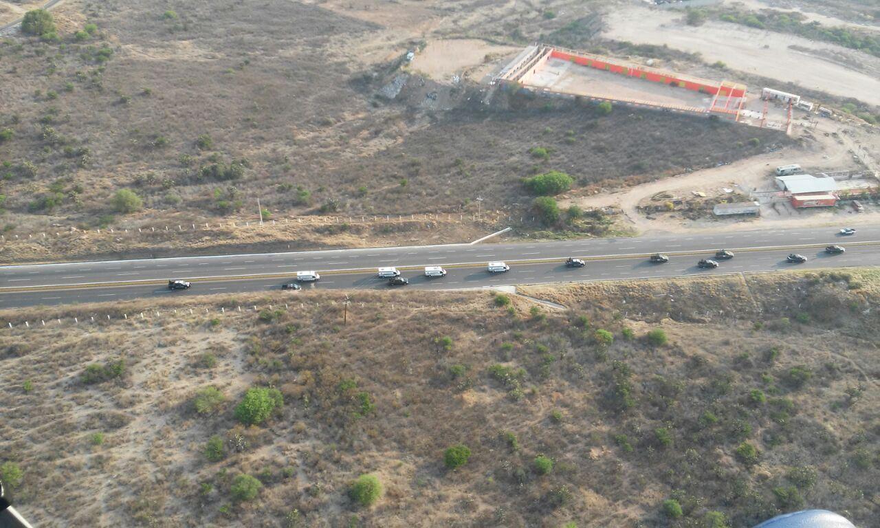 Trasladan a 70 presos de Aguascalientes al CERESO de El Llano