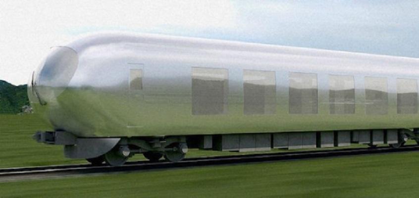 Desarrollan ingenieros de Japón un tren bala invisible