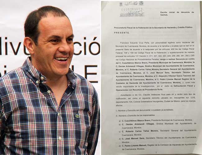 Denuncian a Cuauhtémoc Blanco por defraudación fiscal