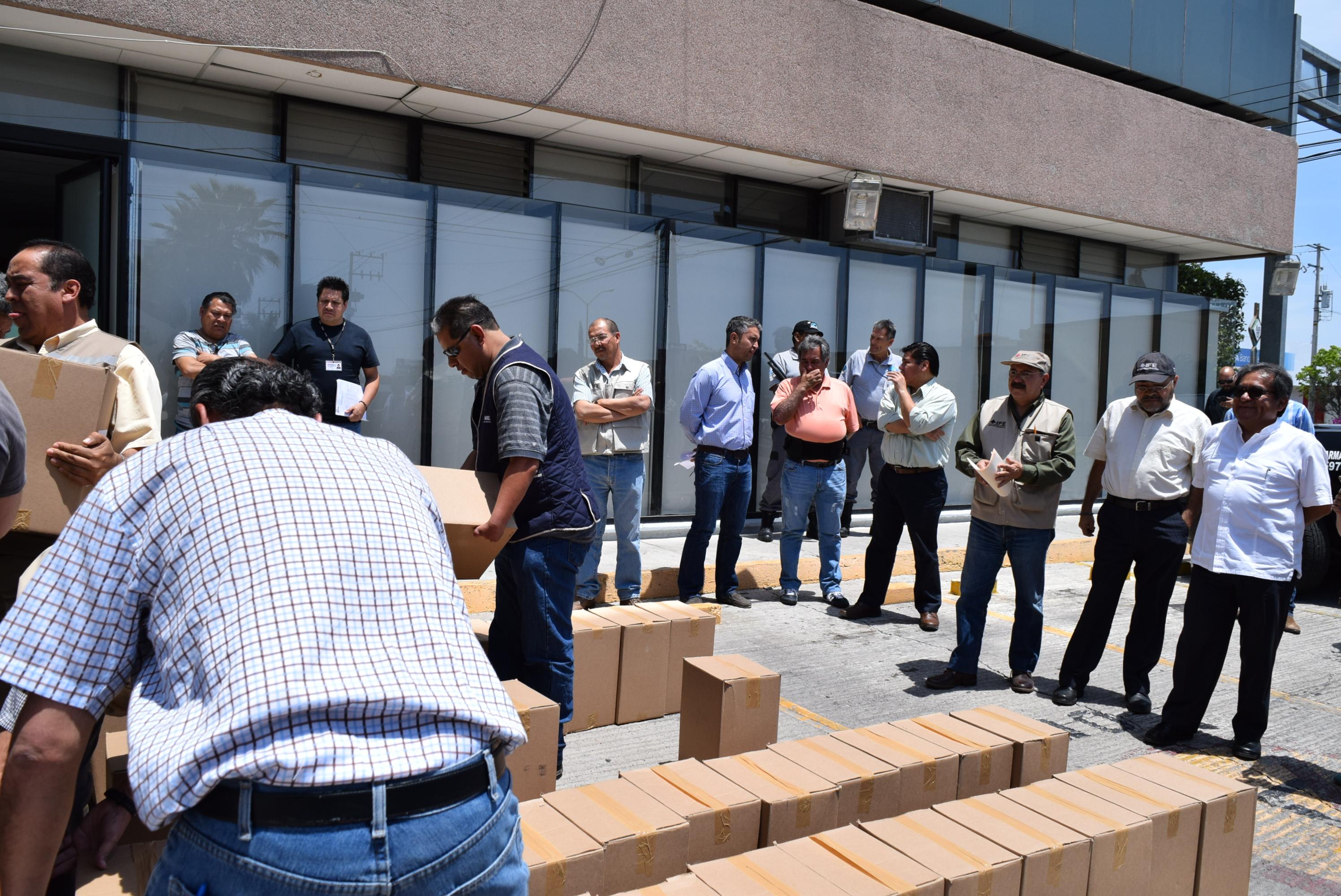 Recibe el INE de Aguascalientes el Padrón Electoral