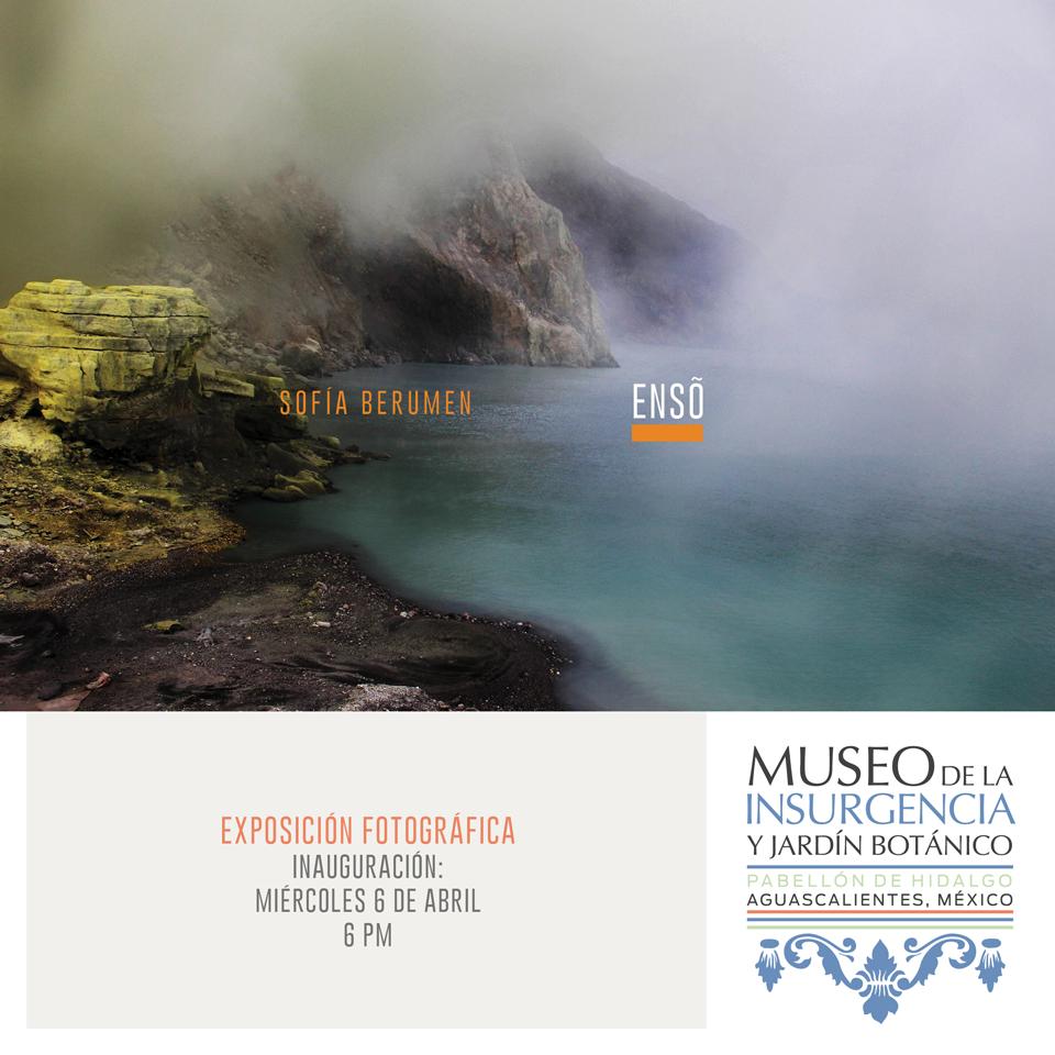 Sofía Berumen en el Museo de la Insurgencia