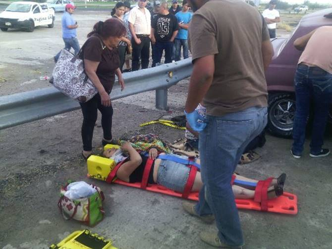 Choca familia zacatecana en Aguascalientes; hay 8 lesionados