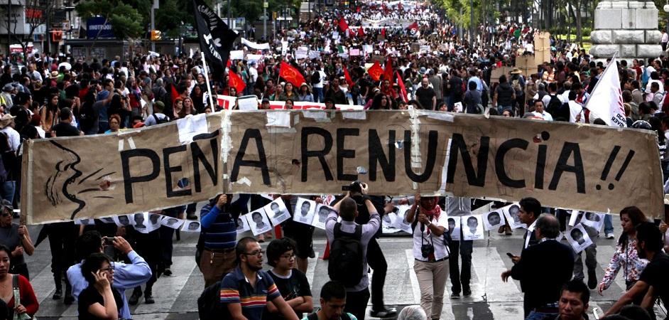 Busca PRI imponer ley que criminalice la protesta: MORENA