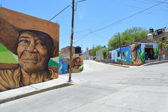 Nuevas obras ilustran la Ruta del Artista en Calvillo