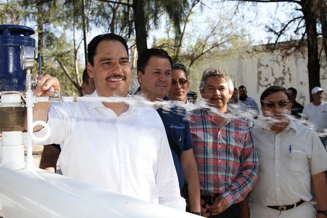 Habrá mejor servicio de agua potable para las colonias del oriente de Ags.