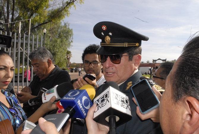 Aunque esté cansado el general Bahena tiene el apoyo del PRI: NEH