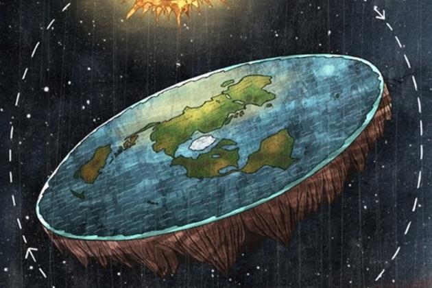 ¿Qué pasaría si la tierra fuera plana?