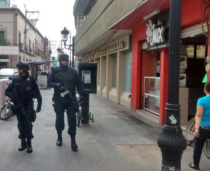 """Tras la """"no ola"""" de asaltos en el centro, refuerzan vigilancia"""