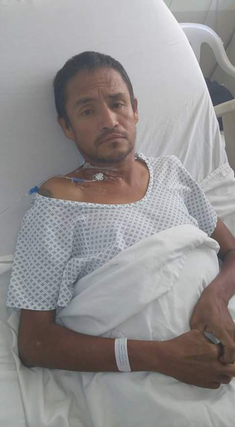 Aguascalentense hospitalizado en Puerto Vallarta busca a sus familiares de Ags