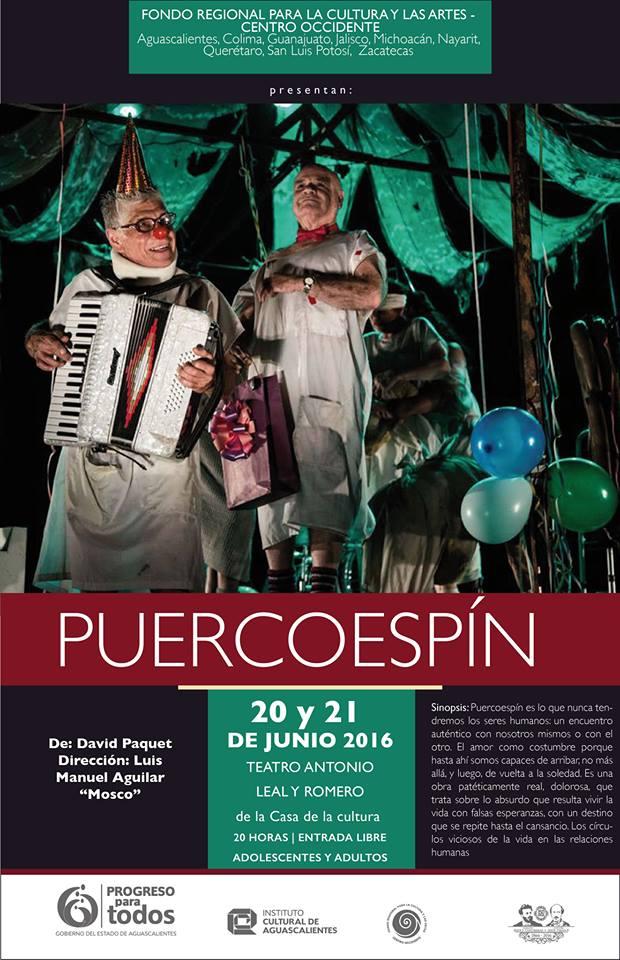 PuercoEspín con avión de papel se presenta en el Antonio Leal y Romero