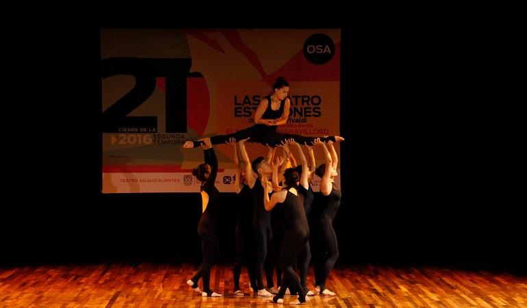 Cierra temporada la OSA con espectáculo de danza contemporánea