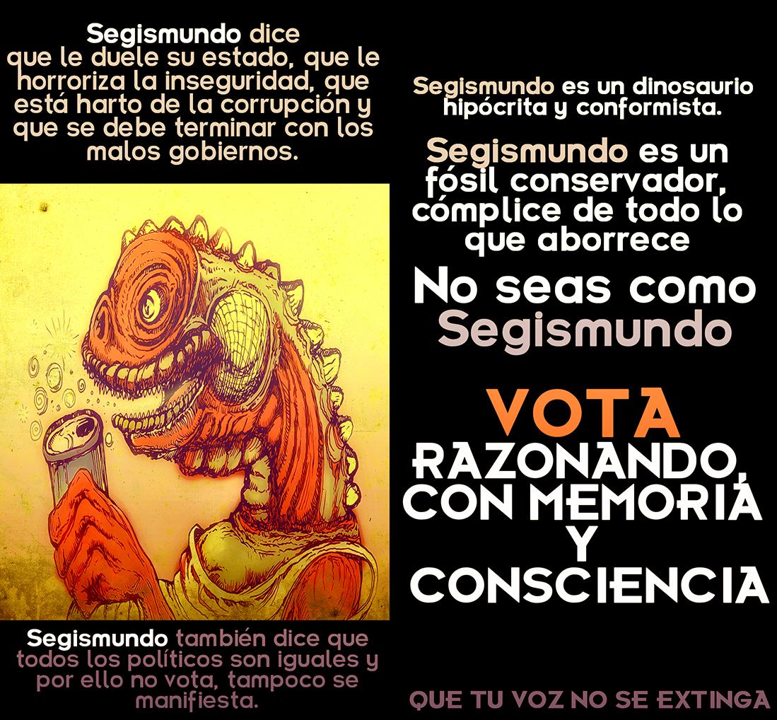 Sin excusa ni pretexto TODOS a votar hoy en Aguascalientes