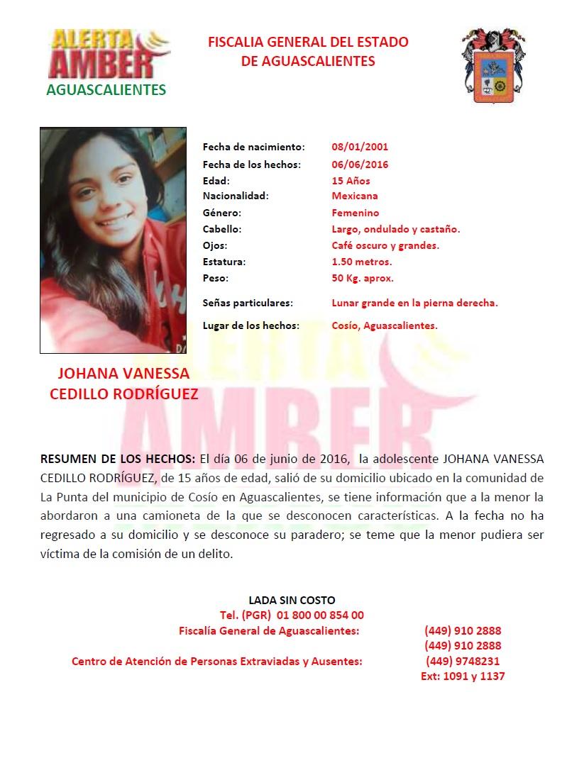 Cancelan Alerta Amber por joven quinceañera desaparecida