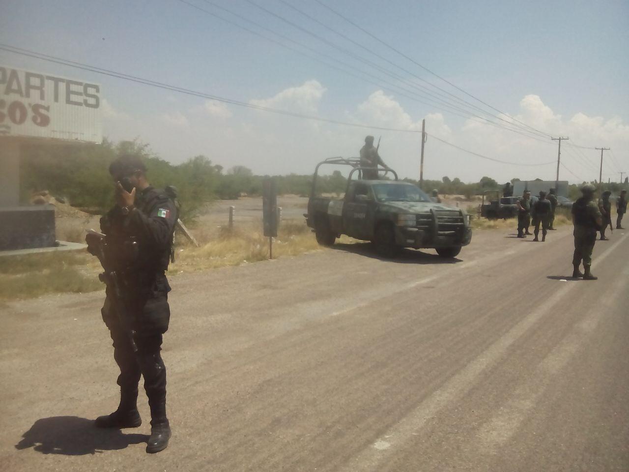 Policías Estatales y militares refuerzan vigilancia en frontera con Zacatecas