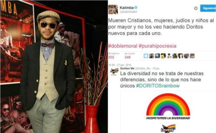 Tunden a Kalimba por comentario en Twitter