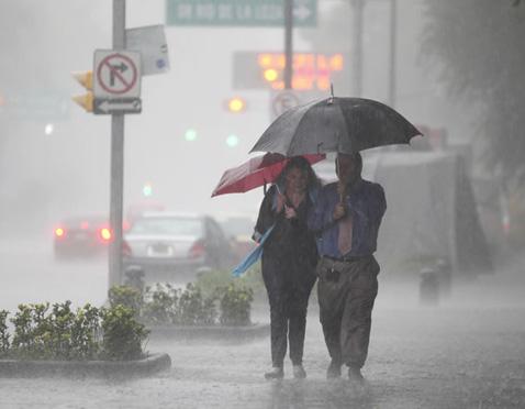 Pronostica PC fin de semana lluvioso para Aguascalientes