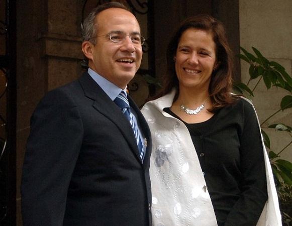 Calderón donó su millonaria pensión para la campaña de Margarita Zavala