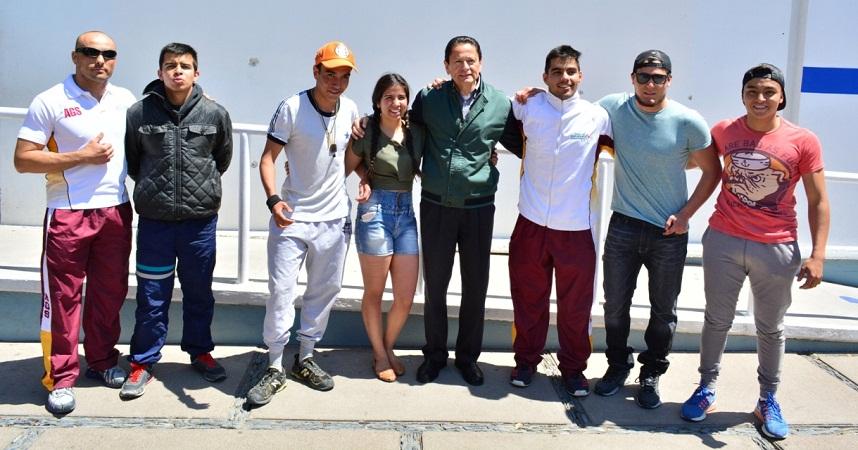 Escuela de Luchas Asociadas de Ags. buscan su pase a la Olimpiada Nacional 2017