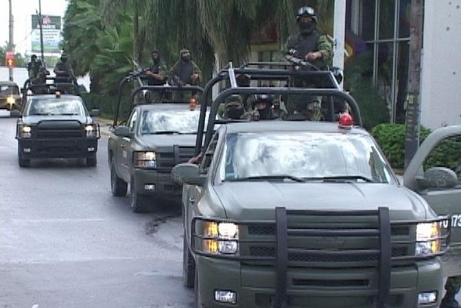 Militares abaten a dos civiles armados en Reynosa