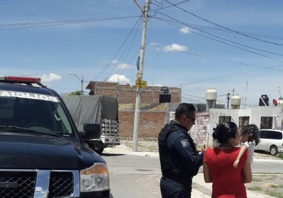 Encuentran Policías estatales a menor extraviada en Aguascalientes