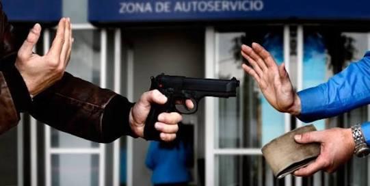 18 asaltos a cuentahabientes en los últimos dos años