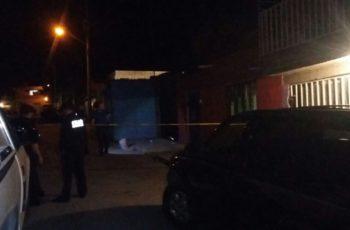 Asesinan a sujeto en el fraccionamiento Guadalupe Posada en Ags