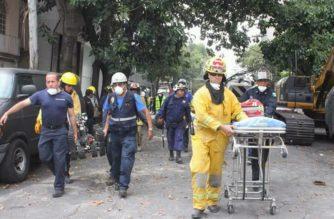 Vuelve a Ags. comitiva de rescatistas que apoyaron a afectados por sismo