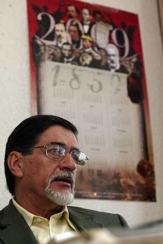 Álvaro Matute, el 9 de enero de 2009, en una entrevista con La Jornada, tras ser reconocido con el Premio Nacional de Ciencias y Artes en el área de Historia, ciencias sociales y filosofía