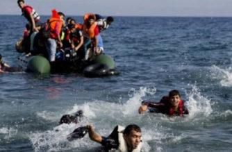 Turquía: 4 muertos y 20 desaparecidos en naufragio migrante