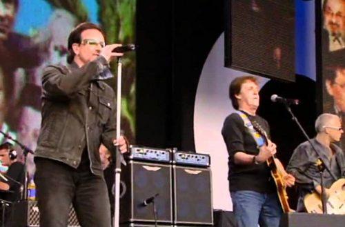 Paul McCartney y U2 vendrán a México a apoyar a damnificados por sismo