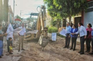 Inician proyectos de obra pública en la cabecera municipal de Jesús María