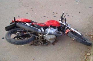 Murió la mujer arrollada por una motocicleta en Ags.