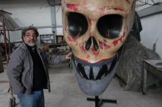 La calavera de Marco Zamudio, cruda evocación del rostro del país