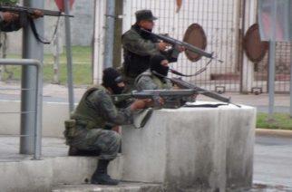 Balacera entre militares y policías contra narcos deja 3 muertos en La Chona