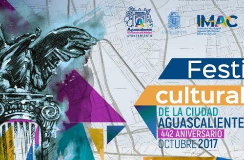 Programa de actividades del Festival de la Ciudad de Ags. para este miércoles